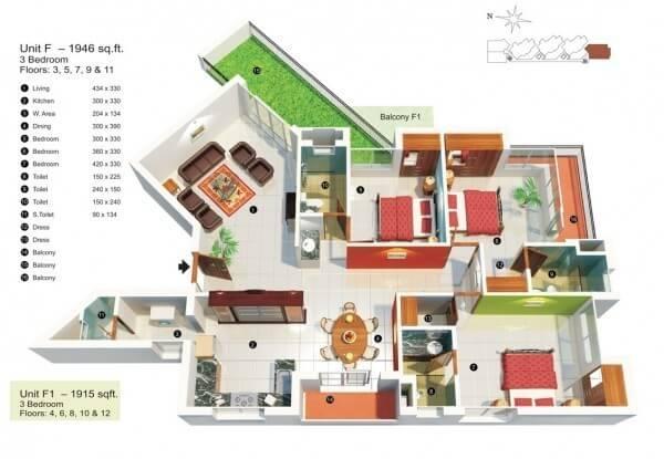 3-bedroom-under-2000-square-feet-600x415 (FILEminimizer)