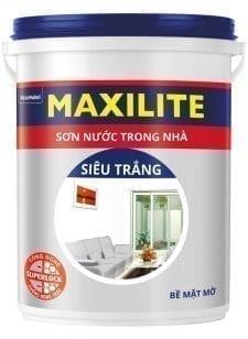 sơn nội thất maxilite siêu trắng