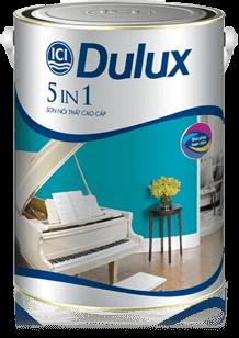 sơn nội thất cao cấp dulux 5 in 1